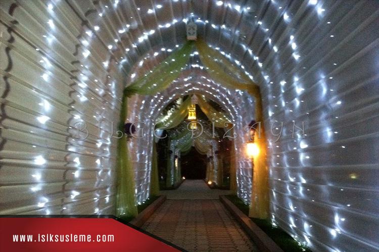 Led Işık Tünel Süsleme - Bilge Design -