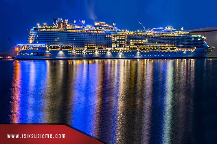 Led Işık Gemi Süsleme - Vapur Gemi Süsleri -